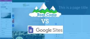 TerraMedia Base Camp vs Google Sites