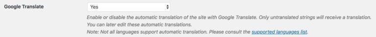 How to use TranslatePress in WordPress with Google Translate