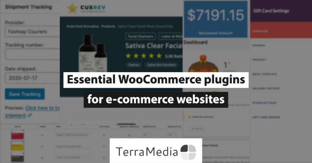 Essential WooCommerce plugins for e-commerce websites