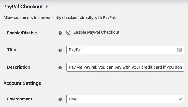 PayPal WooCommerce Plugin