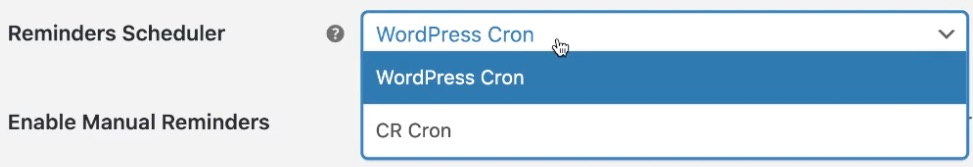 Choose what cron to use to schedule customer review invitation emails in WooCommerce