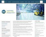 Alertness CRC Drupal Website