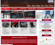 Complete Car Care - WordPress Website