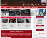 Complete Car Care - WordPress Website