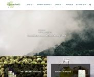 Arianrhod Aromatics - WordPress Website