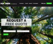 Hayden Tree Service - WordPress Website
